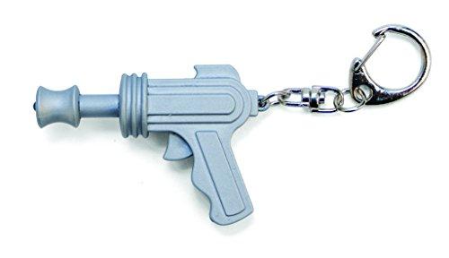 Kikkerland KRL29-CDU-EU SPACE GUN LED KEYCHAIN CARDED/CDU, Bunt