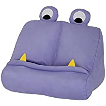 Bookchair Vertrieb Bookmonster 60131 - Monstruo Cojín Soporte para Tablet, Almohada de Apoyo Libro, Reposa Book Holder, iPad Lectura