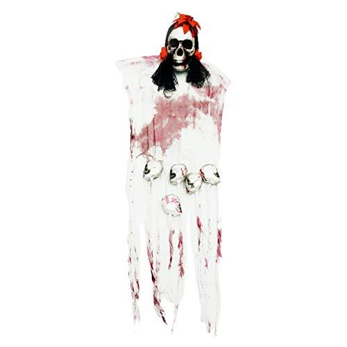 Decorazione del costume dello scialle di halloween, tenda del cranio di halloween