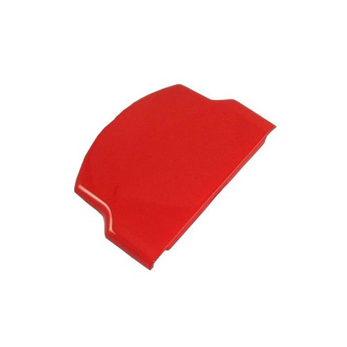 Generic Battery Protector Cover Door Repair Parts Replacement Compatible For Sony Psp 2000/3000 Color Red
