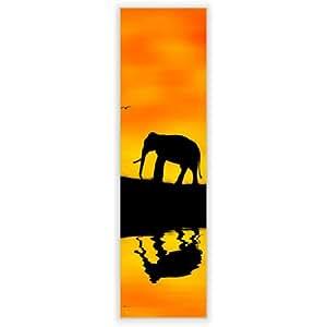 Motivscheibe pour iKEA applique gyllen vertical avec motif :  afrique