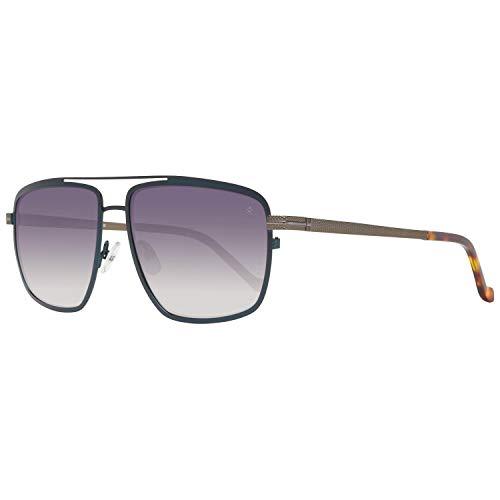 Hackett London Herren HSB8566057 Sonnenbrille, Blau (Azul), 57