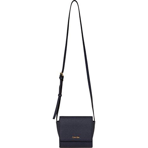 Calvin Klein - M4rissa Flap Crossbody, Borse a tracolla Donna Nero (Black)
