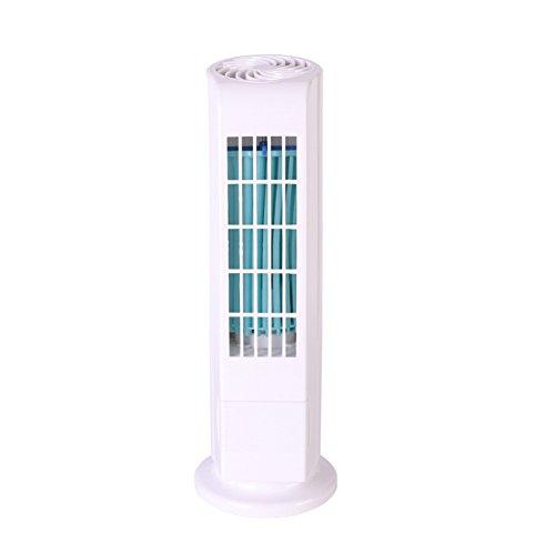 Preisvergleich Produktbild YJIUJIU Drei-Geschwindigkeit Blattloser Ventilator Mini Elektrischer Ventilator Klimaanlage Turm Fan Tragbaren Desktop USB-Lüfter