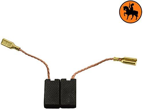Escobillas de Carbón para KRESS WTS 900 E amoladora -- 5x8x14mm -- 2.0x3.1x5.5\'\'