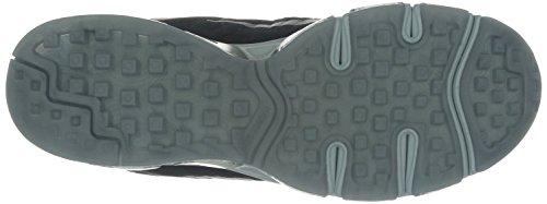 Nike Air Max Tailwind 7 683632 Herren Laufschuhe Training Black (schwarz / silber-metallic-reines Platin)