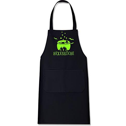 Shirtracer – Schürze mit Motiv – Hexenküche – Schürze und Kochschürze für Erwachsene