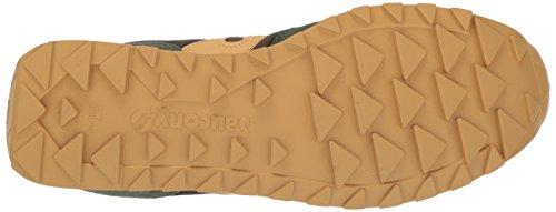 Saucony Jazz Low Pro, Sneaker Unisex Bambini Verde (Dark Green/Gold)