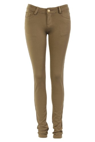 Legging taupe avec poches Marron