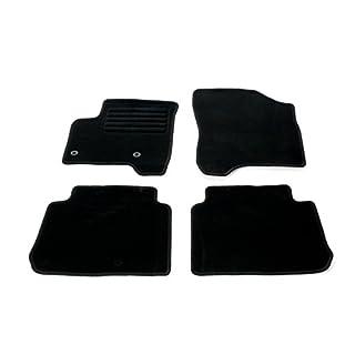 Citroen C3 Picasso ab Bj.03/2009 Fußmatten Set Velour, schwarz