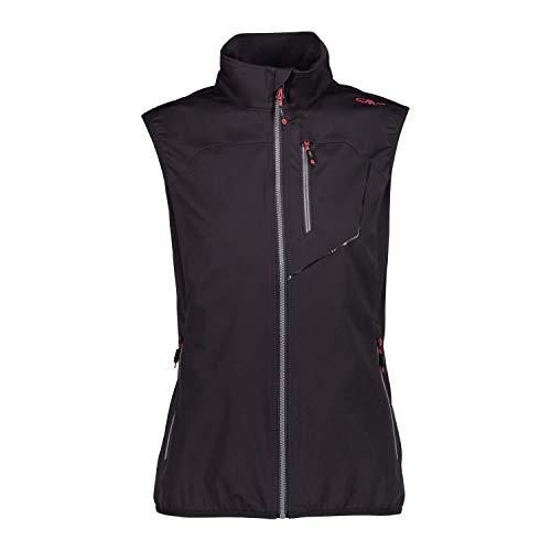 3fcfffcee CMP Damen Weste Woman Vest 39A5266 Antracite 40
