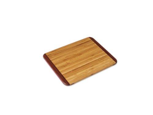 Island Bamboo 40815 Rainbow Bamboo Bar Board, 17,8 x 22,9 cm Bamboo-bar-board