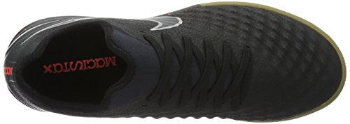 Nike Magistax Finale Ii Ic, Chaussures de Football Homme Noir (Black/Black/Total Crimson/Gum Light Brown)