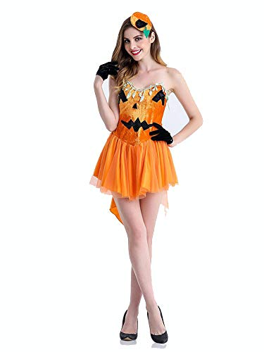 SVFD Halloween Kostüme Kürbis Kleid Erwachsene kleine