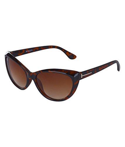 MarkQues Katty Cateye Sunglasses (Brown) (CAT-550202T)