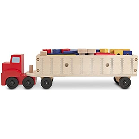 Melissa & Doug - Juego de construcción de camión grande (12758)