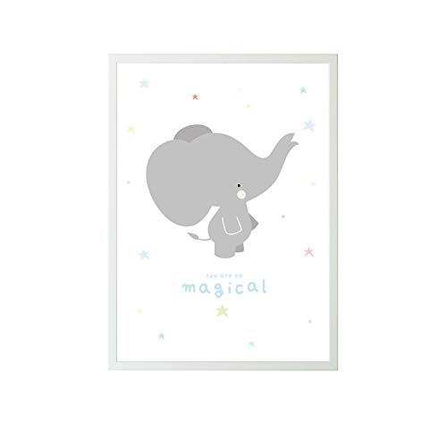 A Little Lovely Company - Póster de elefante