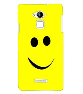 ColourCrust Coolpad Note 3 Mobile Phone Back Cover With Smiley Expressions Style - Durable Matte Finish Hard Plastic Slim Case