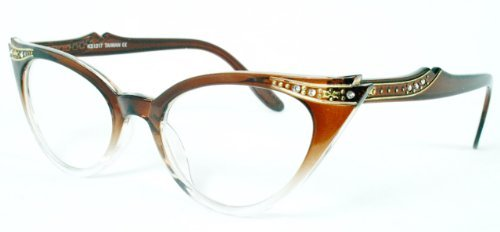 new-vintage-retro-cat-eye-clear-lens-fashion-women-eyeglasses-glassesfree-microfiber-pouch-by-kiss