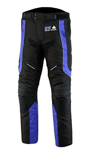 Pro Biker Gears MENS-MOTO-TROUSER-BLUE-BLK-W32-L28