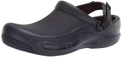 Buy crocs Unisex's Bistro Pro LiteRide Clog Black 8 Men/ 9 UK Women (M9W11) (205669-001-M9W11) online in India at discounted price