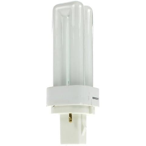 Osram Dulux D 10 W/840 bajo consumo 2 pin PLC - lámpara blanca - G24d-1