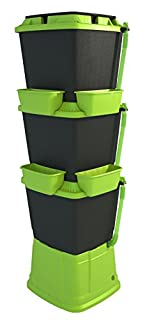 Rainwater Terrace Water Butt 3 Tier, 200 Litre, Black/Bright Green (B00KJGK9TM) | Amazon price tracker / tracking, Amazon price history charts, Amazon price watches, Amazon price drop alerts