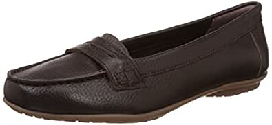 Hush Puppies Women's Ceil Penny Leather Loafers and Mocassins