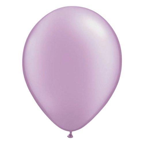 Folat 08088 Ballons Lavendel-Lila-100 Stück, Lila