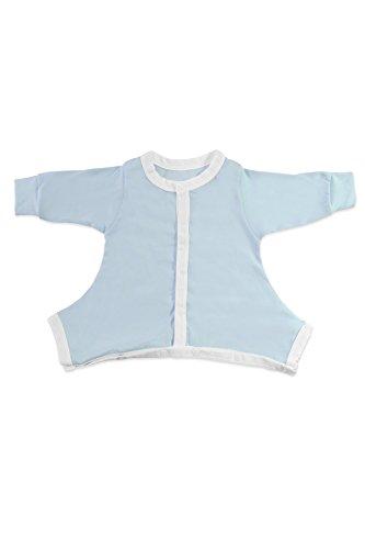 Schlummersack Hip-Pose Baby-Schlafanzug für Spreizhose und Gipshosen für Neugeborene 0-3 Monate, blau