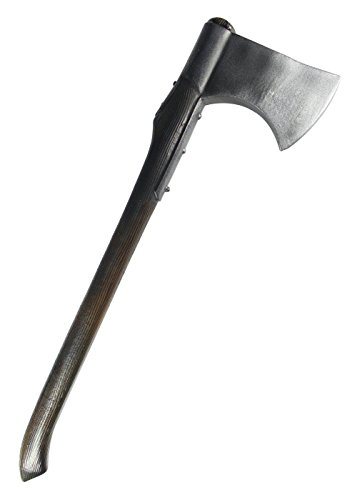 (LARP Holzfälleraxt aus Schaumstoff Polsterwaffe Kriegsaxt Beil Mittelalter Schaukampf Wikinger)