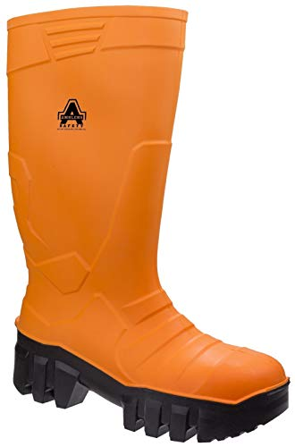 Amblers Mens & 1010 Womens Slip Resistant Steel Toe Safety Wellingtons
