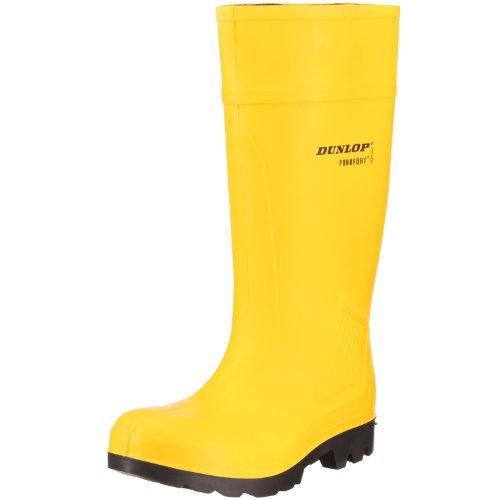 Dunlop Herren Tasche (Dunlop Gummistiefel S5 CI EN345 DUC462241 Herren Stiefel, Gelb/Schwarz,EU 48)