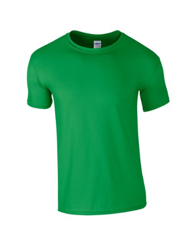 Gildan Softstyle Erwachsene ringgesponnene Casual Top Erwachsene Short Sleeve Crew Neck T-Shirt Irish Grün
