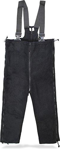 Winterhose mit Hosenträgern Fleece Thermohose Größe L