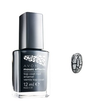 Mosaic Effects Top Coat - Mosaic Mica