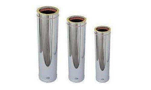 Tubo acciaio inox coibentato 130 usato vedi tutte i 53 - Canna fumaria esterna prezzi ...