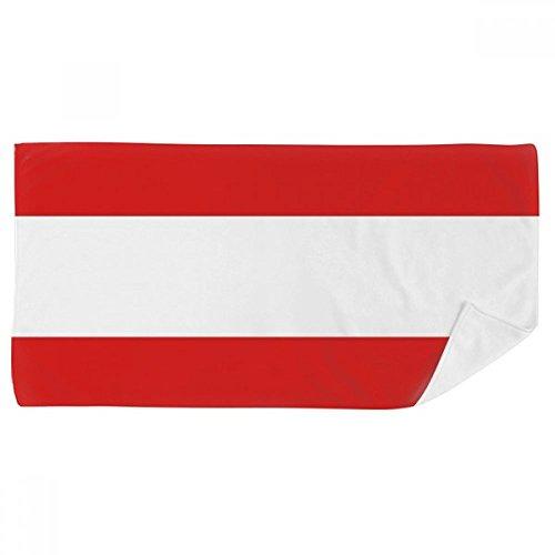 Europa-handtuch (DIYthinker Österreich National Flagge Europa Land Badetuch weichen Waschlap Kulli Waschlap Kulli 35X70Cm 35 x 70cm Mehrfarbig)