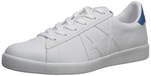 Armani Exchange Herren Schuhe Sneaker 955072 8P461 45 Weiss
