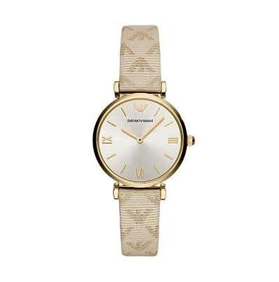 Emporio Armani Reloj Analógico para Mujer de Cuarzo con Correa en Cuero AR11127 de Emporio Armani