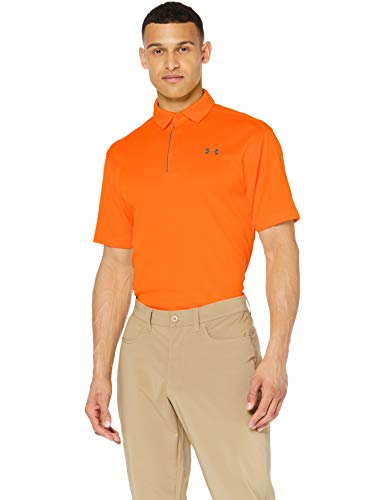 Under Armour Herren Tech Polo Kurzarmshirt, Team Orange (800), XXL