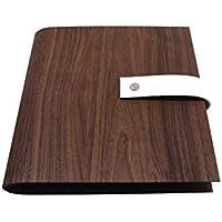 Archivador con cubierta de papel óptica de madera AVELLANO DIN A5 y DIN A4 - Con