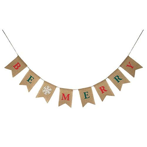 d Banners Bunting Garlands Party Banner Xmas Party Home Decoration ()