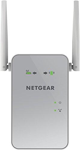 Netgear EX6150-100PES Répéteur Universel Wi-Fi AC1200 Dual Band Gigabit RJ45 Blanc