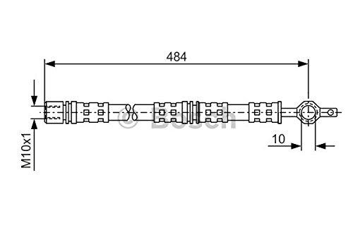 Preisvergleich Produktbild Bosch 1987476551 Bremsschlauch