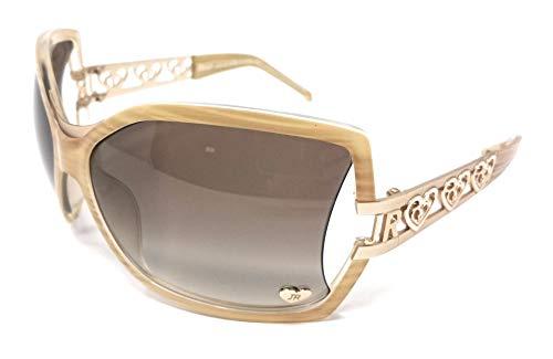 John Richmond Damen Sonnenbrille Beige beige