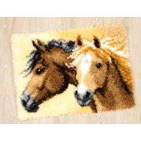 Vervaco PN-0144834 diseño de caballos, alfombra de nudos