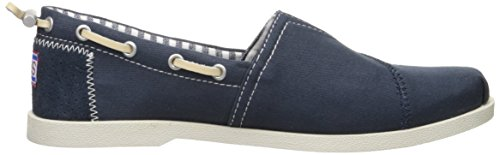Bobs by Skechers Urban Trails Tessile Mocassini Navy / Bianco