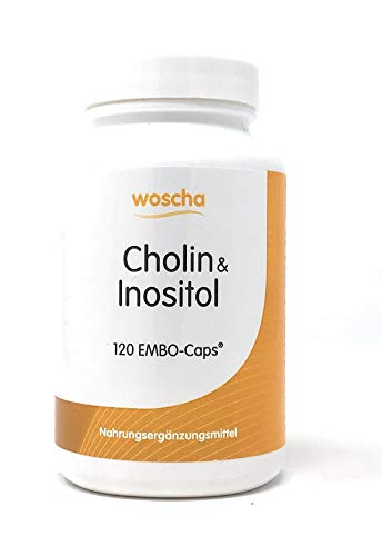 woscha Cholin & Inositol 120 Embo-CAPS® (118g) (vegan)