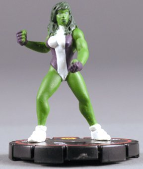 HeroClix: She-Hulk # 56 (Experienced) - Supernova by HeroClix